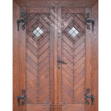 drzwi-wejściowe-dwuskrzydłowe-jodełka