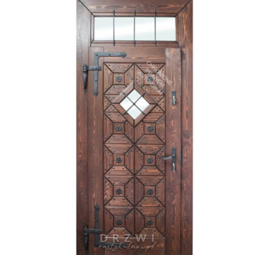 drzwi-wejściowe-rustykalne-do-dworku