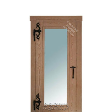 drzwi-wewnętrzne-szczotkowane-przeszklone