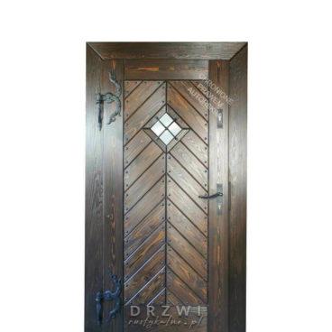 drzwi-zewnętrzne-jodełka-szczotkowane