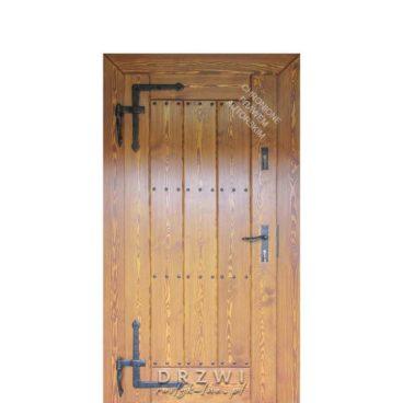 drzwi-zewnetrzne-rustykalne-proste-deski